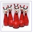 wooden bowling sets